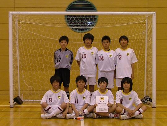 第3位:多摩区FC U-12