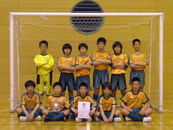 優勝:NPO FCパーシモン