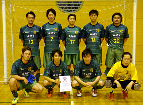 第3位:AMX KAWASAKI