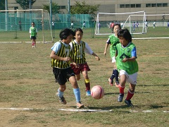 体育の日記念事業ミニサッカー大会(34年生の部)1