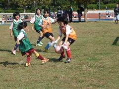 体育の日記念事業ミニサッカー大会(56年生の部)1