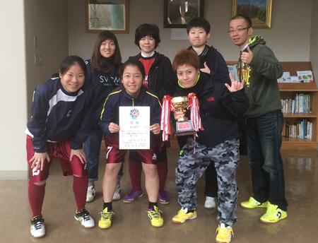 第18回かなべえ川崎市フットサル大会(女子の部 )優勝:KDFT