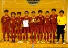 準優勝:多摩区FC U-12