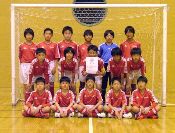 第4位:富士見台FCレッド