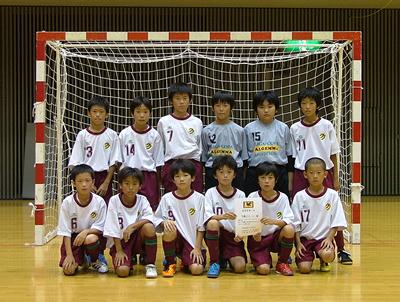 敢闘賞2位 多摩区FC U-11