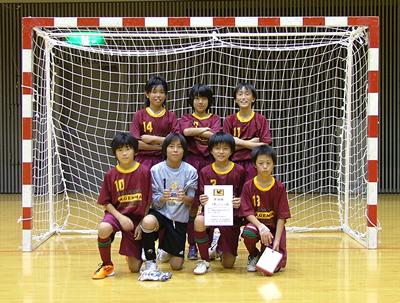 準優勝 多摩区FC U-12