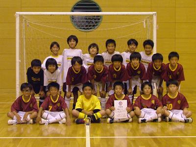 準優勝 多摩区FC AL