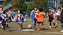 体育の日記念事業ミニサッカー大会(1,2年生の部)1