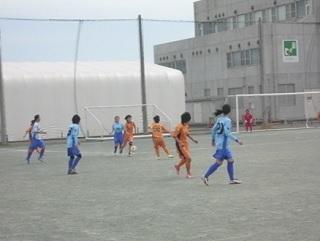 2014年度女子リーグ試合風景1
