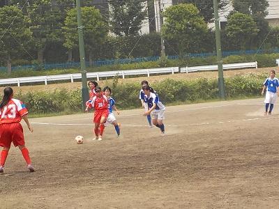 サマーカップ2015試合風景2